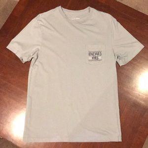 Men's XS vineyard vines T-shirt, gray